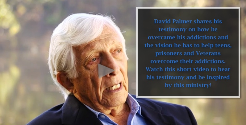 David Palmer shares his powerful testimony